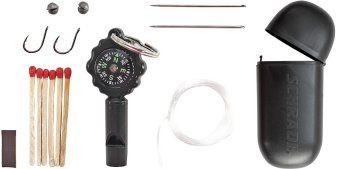 SCHSK1 Schrade Survival Kit Whistle/Compass