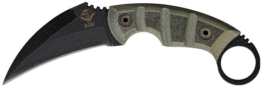 Нож керамбит из дерева